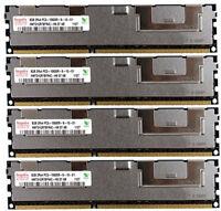 4x 8GB 32GB DDR3 ECC 1333 MHz / 1066 MHz RAM Apple MacPro 4,1 5,1 mit Kühlkörper