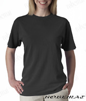 Fruit of the Loom tshirt Pack of 3 Plain Blank light graphite Women's t shirt