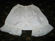 Sweet Antique Vtg French Alencon Lace- Pantaloons Bloomers by Arrow