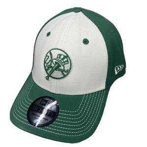New York Yankees Hat St Patricks New Era 39Thirty MLB Green Sz Medium-Large RARE