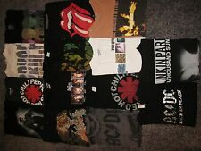 LOT 14 ROCK and CONCERT T-SHIRTS THE BEATLES LINKIN PARK BRUCE SPRINGSTEEN ++