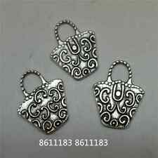 30PCS Tibetan Silver bag Pendant Charms Accessories Jewellery Craft     GP1018