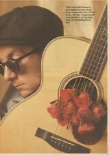 18/2/89Pgn26 Article & Picture 'and So To Bedlam' Elvis Costello On His Acclaim