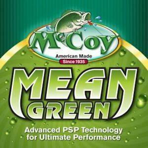 McCoy Mean Green Co-Polymer Fishing Line 250 yds - Choose Size