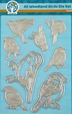 Woodland Birds - AC4001 Oakwood Archer A5 Sheet Cutting Dies