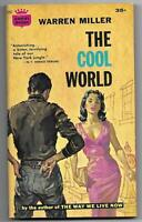 The Cool World by Warren Miller (1960 Crest pb s386 - Juvenile Delinquency, VG+)
