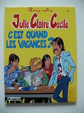 EO 1989 (très bel état) - Julie, Claire, Cécile 6 (C'est quand les vacances ?)
