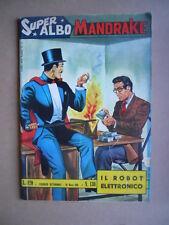 Super Albo MANDRAKE n°130 1965 Edizioni Spada [G466] BUONO