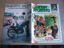 GUERIN SPORTIVO=N.44 1976=POSTER  STORY BETTEGA=COPPE EUROPEE MANCHESTER U.