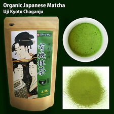CHAGANJU Organic Japanese Matcha Green Tea Powder High Grade 100g Free Shipping