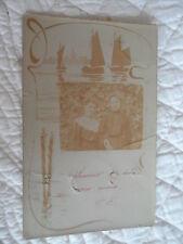 Carte postale - Portrait - Souvenir de deux amies sincères