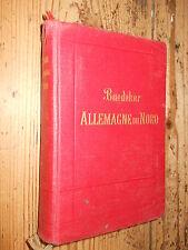 Allemagne du Nord Baedeker III ed. 1909 L1 ^