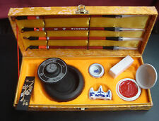 Chinese Painting Calligraphy Tool Set with Box