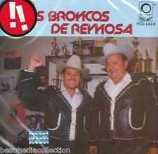 Los Broncos De Reynosa CD NEW 16 Exitos ALBUM Perless SEALED