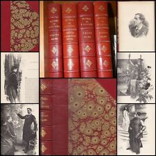 FRANCOIS COPPEE  OEUVRES COMPLETES 4 VOLS  Ed ALPHONSE LEMERRE POESIES THEATRE..