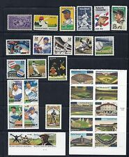 US Baseball Collection/Lot Complete - 1939 to 2010 - Post Office Fresh, MNH*