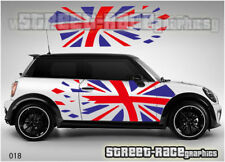 Mini side 017 Union Jack flag vinyl stickers decals graphics Fits all Minis