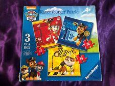 Ravensburger Nickelodeon Paw Patrol 3x Puzzles L@@K