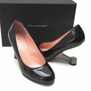 UNITED NUDE Patent Leather Eamz Pumps Size 37(K-81409)