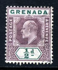 GRENADA King Edward VII 1902 ½d. Purple & Green Watermark Crown CA SG 57 MINT