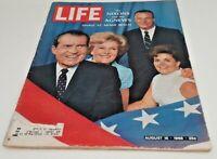 August 16, 1968 LIFE Magazine Nam Era 1960s FREE SHIPPING Aug 8 68 7 AGNEW