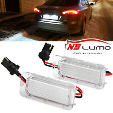 Ford Focus 5D 08-2013 FIESTA MONDEO MK3 MK4 MK6 led license number plate light