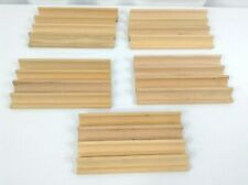 Scrabble Game Wooden Tile Holders Trays from 5 Games for Arts Crafts