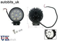 Potente: 27w Frontal Bol nudge Bar & Spot Luces Led Smd 12v día Lámpara Coches Suv 4x4