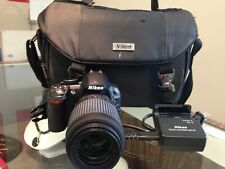 NIKON DSLR D3100 CAMERA W/ LENSE & CARRYING CASE