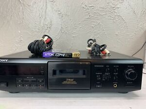 Sony Stereo 3-Head Cassette Deck, TC-KE500S