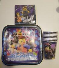 LEGO MOVIE 2 Birthday Party Supply Kit