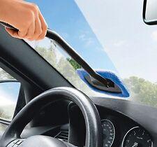 Windscreen Long Reach Microfiber Glass Cleaner & Shine Cloth Demister Pad Car
