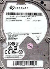 Seagate st2000lm005 P/N: hn-m201aad / VP2 S/N: S373 DGT 2TB USB 3.0 b12-10