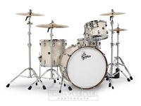 Gretsch Renown 4pc Drum Set w/ 24BD Vintage Pearl