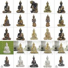 Deko Buddha Figur sitzend verschiedene modell Statue Feng Shui Thai Buddha