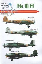 Eagle Cal ADHESIVOS 1/48 Heinkel he111h #48149
