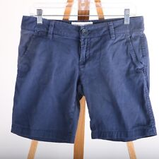 Aeropostale Stretch Casual Shorts Women's 7/8 Blue