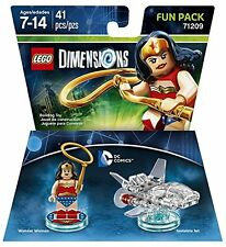 LEGO Dimensions: Fun Pack - DC Wonder Woman BRAND NEW GIFT IDEA FREE P&P