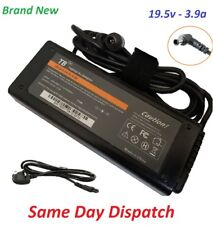 Sony TV AC Adapter 19.5v 3.9a Part 092014-11 Replacement + UK Power Cord