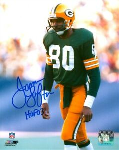 GB Packers JAMES LOFTON Signed 16x20 AUTO Action Photo #3  w/ HOF '03