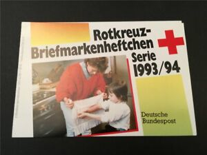 GERMANY BOOKLET 1993 RED CROSS CROIX ROUGE ROTES KREUZ h4955