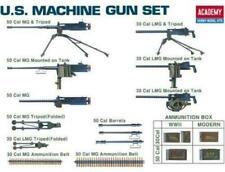 U.S. MACHINE GUN SET (BROWNING M1919, BROWNING M2, BROWNING M2 HB)#13262 ACADEMY