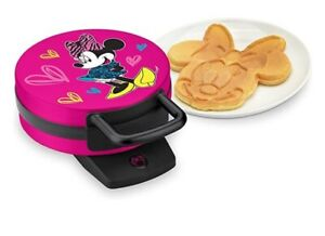 Disney Minnie Mouse Waffle Maker BRAND NEW! USA SELLER! AVAILABLE IN STOCK!!!