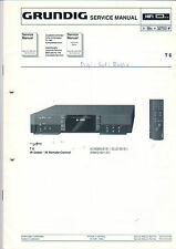 Grundig Service Anleitung Manual T 6   B554