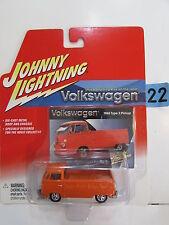Johnny Rayo Volkswagen 1965 Type 2 Camioneta Naranja