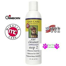 Gimborn R7 Step 2 Grooming Groomers Ear Care Cleaner DOG CAT PET EARS 8 OUNCE