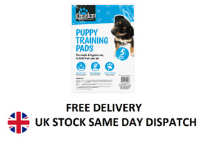 5 Pack Dog Puppy Cat Training Pads Absorbent Pee Wee Pad Training Mats 50x40cm