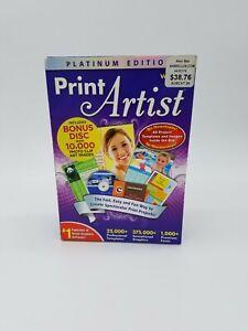 Print Artist Platinum Edition Version 23 (CD-ROM, For Windows, Windows XP/Vista)