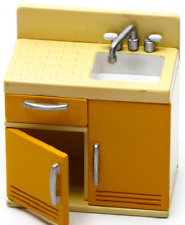 Megahouse 2004 Miniature Happy Story Series Retro Style Kitchen SINK SET Retired