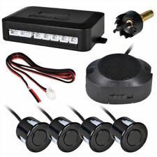 Car Rear Reversing Parking Sensors 4 Sensors Kit Audio Buzzer Alarm Durable New